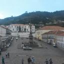 Vista do Museu para a Gloriosa Escola de Minas!!!