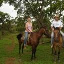 Cavalgada na fazenda do Japonês.