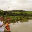 Pescando piaba com o Japa.